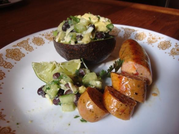 Stuffed Avocado Salad
