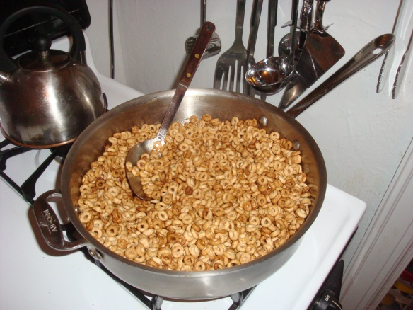 Fried Cheerios